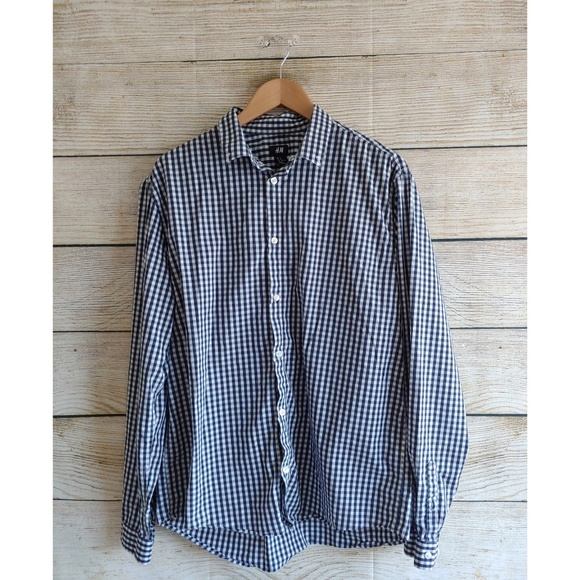 H&M Other - H&M Men's Casual Long Sleeve Button Down XL